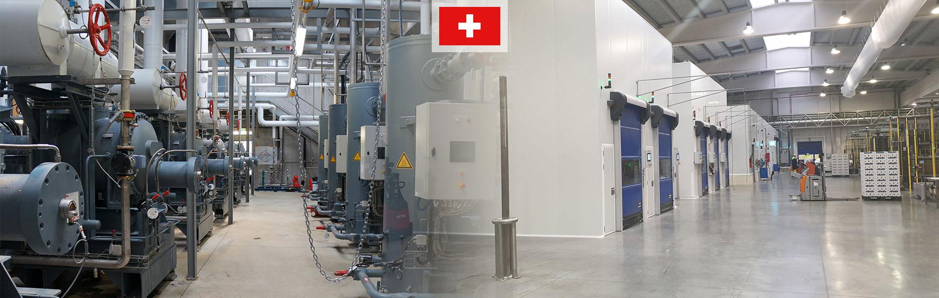 Froid industriel & traitement d'air