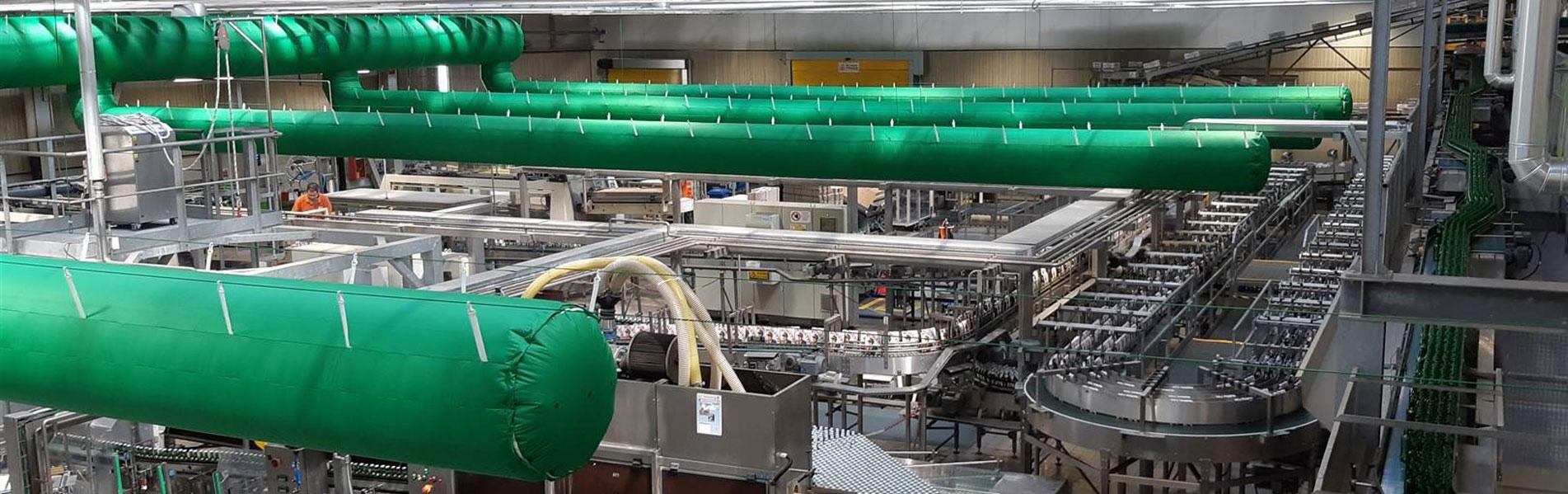 Textile Luftverteilungsanlagen